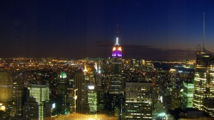 "Empire State desde ""Top of the Rock"""